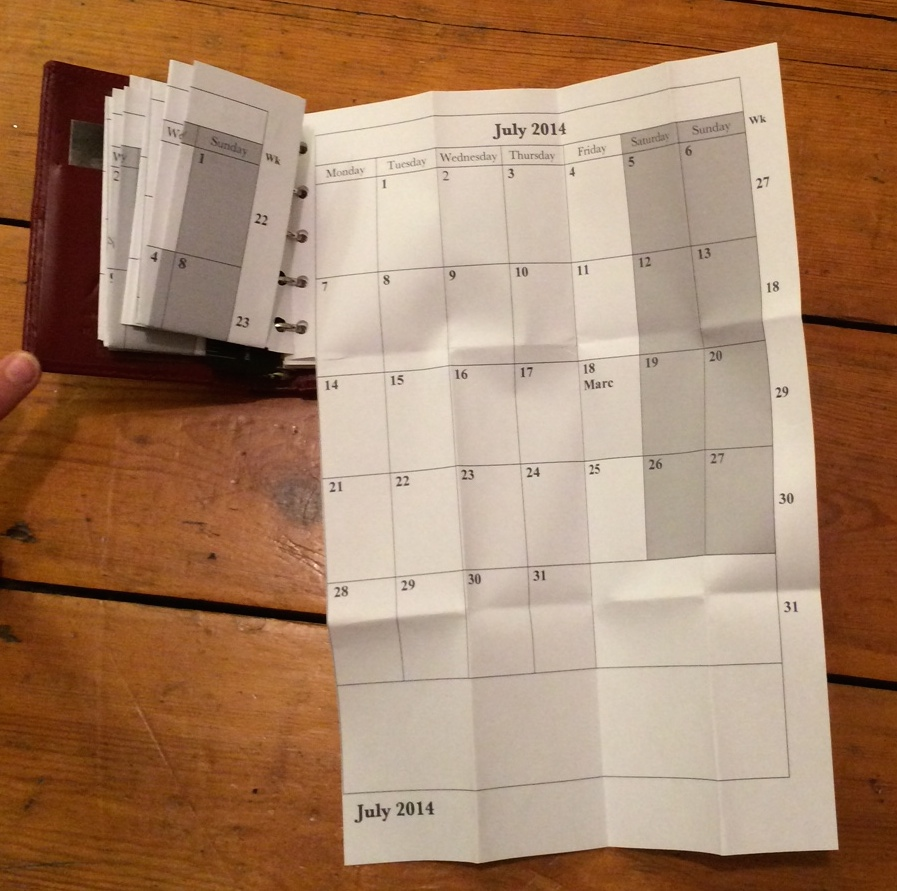 4 Filofax in use 1a
