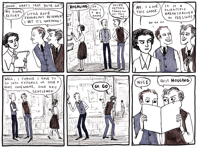RosalindFranklin by Kate Beaton